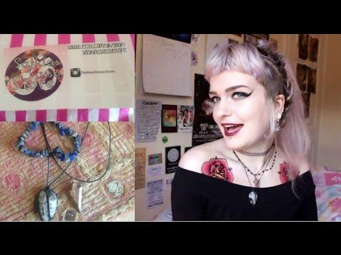 ✫✫✫ SaskiasSassyStore Crystal Stone Jewellery Review ✫✫✫