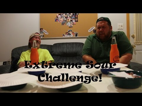Uncle Larry and Joe Take On the Extreme Sour Challenge!!