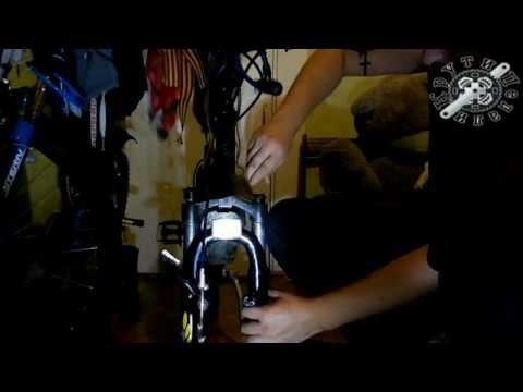 устройство и ремонт эластомерной вилки RST