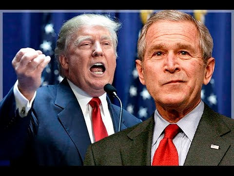 George W. Bush Throws Shade At Trump