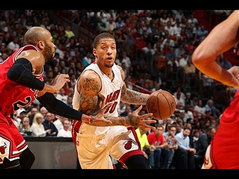 Michael Beasley Erupts in 2nd Quarter!!