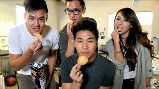 Eating Wong Fu's Snacks
