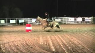 Tess on Rapunzle at Circle, MT PRCA Rodeo * August 16, 2012