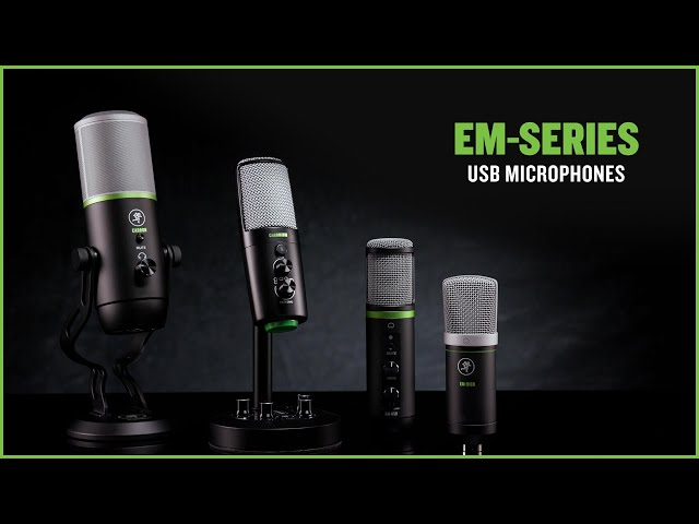 EleMent USB Microphones - Overview & Lifestyle Video