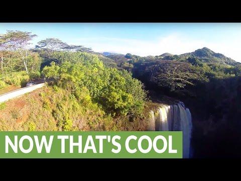 Drone footage reveals sheer magnificence of Hawaiian Islands