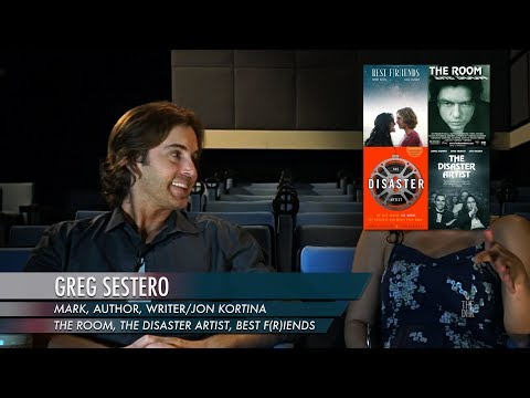 'The Room / The Disaster Artist / Best F(r)iends' Interview   Greg Sestero