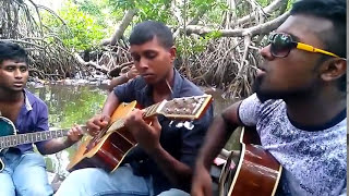 Hotel California Eagles Acoustic Cover by  Sri Lanka - Travel with music