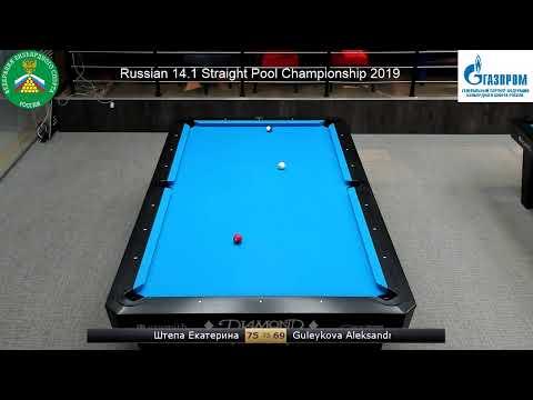 Чемпионат России «Пул 14.1»,  TV 1