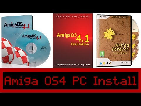 HOW TO: Install Amiga OS4.1 on a Windows PC