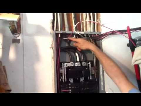 How to Install a Square D GFI Breaker - YouTube