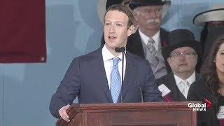 Facebook CEO Mark Zuckerberg delivers Harvard commencement full speech