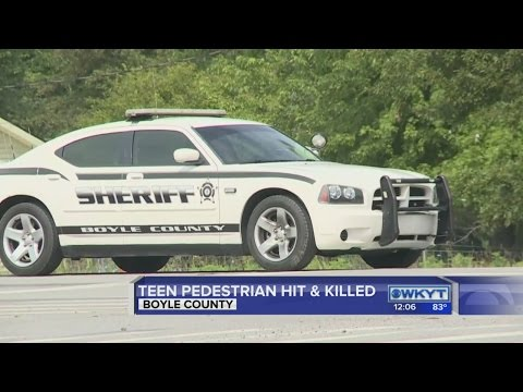 Teen pedestrian hit and killed in Boyle County