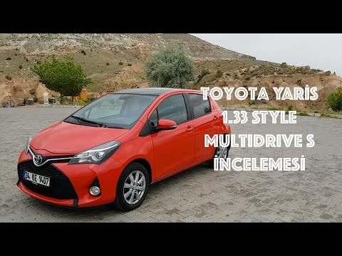 Toyota Yaris 1.33 STYLE Multidrive S İncelemesi