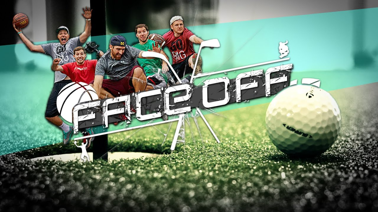 Dude perfect golf challenge youtube for Dude perfect logo wallpaper