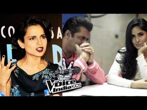 Salman & Katrina Promotes Tiger Zinda Hai On Voice India, Kangana REACTS On Zaira Wasim's HARASSMENT