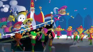 Het Sinterklaas Meezingboek - Zie Ginds Komt de Stoomboot (gezongen door Maan)