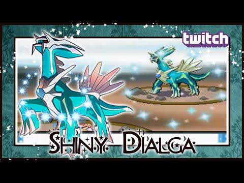 LIVE ON STREAM!! EPIC!! Shiny Dialga On Pokemon Diamond After 8592 SRs!!
