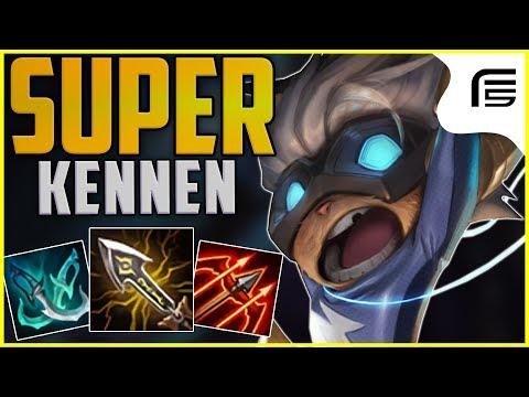 ALTERNATIVA PRA QUEM GOSTA DE HIPERCARRYS - SUPER KENNEN CRÍTICO -League of Legends - Fiv5 thumbnail