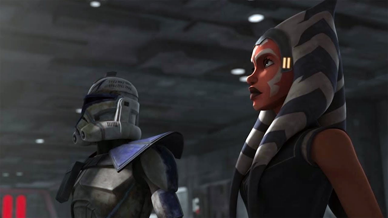 Ahsoka And Rex Need To Leave Clone Wars Finale Victory And Death Clip Youtube