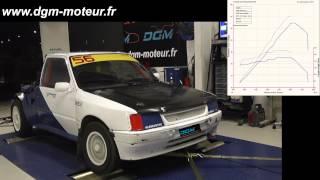 PEUGEOT 205 TERRE moteur 306 S16 2.0L - Dijon Gestion Moteur