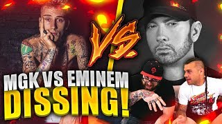 MACHINE GUN KELLY -  RAP DEVIL (Eminem Diss) | RAP REACTION