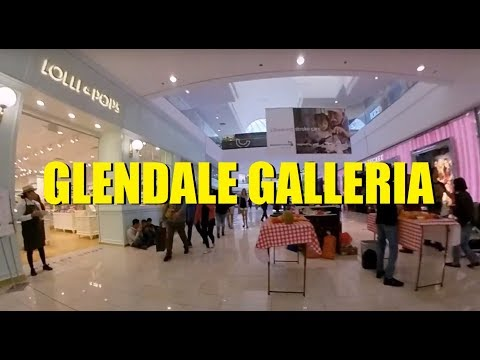 Mall Meandering (Ep. 188):  Glendale Galleria - Holidays 2018
