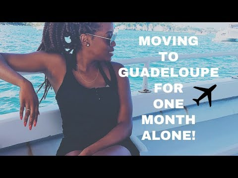 I'M MOVING TO GUADELOUPE... | VLOG