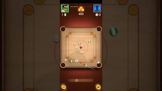 Carrom pool Game play |Carrom board Online game | Must Watch |#Shorts