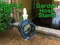 DIY : How To Build A Garden Hose Holder
