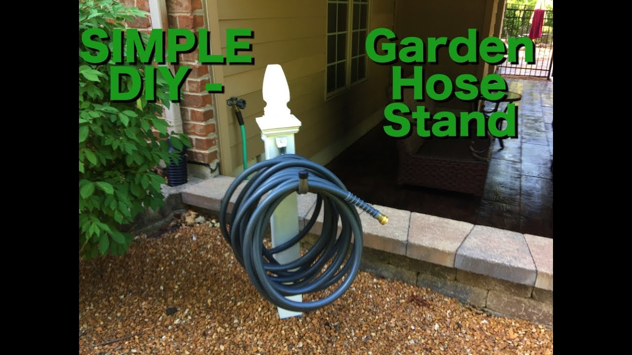 DIY : How To Build A Garden Hose Holder
