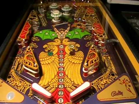 Lost World Pinball Machine Video