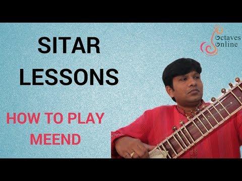 Hindustani Sitar : How to play Meend