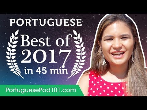 Learn Portuguese in 50 minutes - The Best of