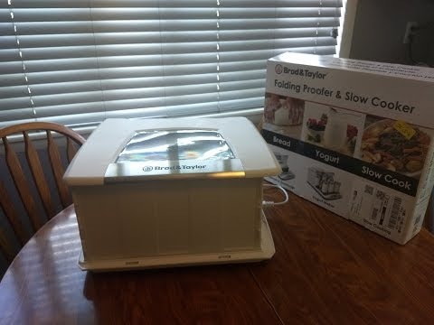 Making Yogurt Using The Brod & Taylor Folding Proofer & Slow Cooker With Angie's Pantry