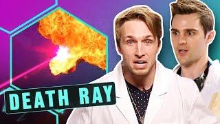CREATING A SOLAR DEATH RAY! (Smosh Lab)