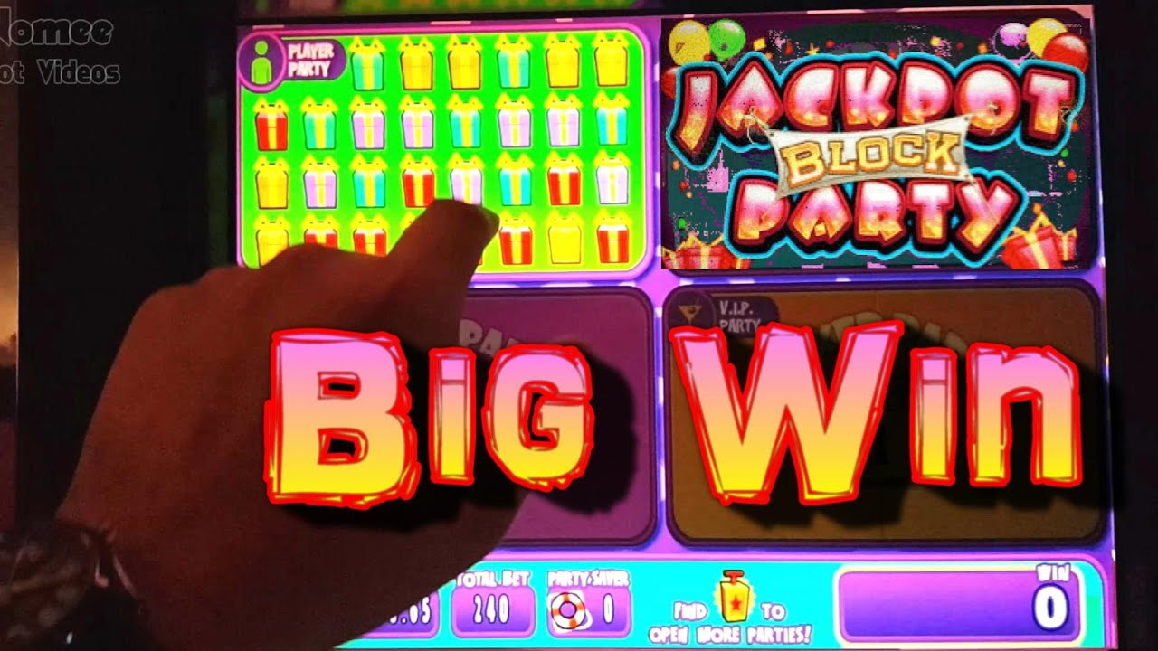 Block Party Slot Machine