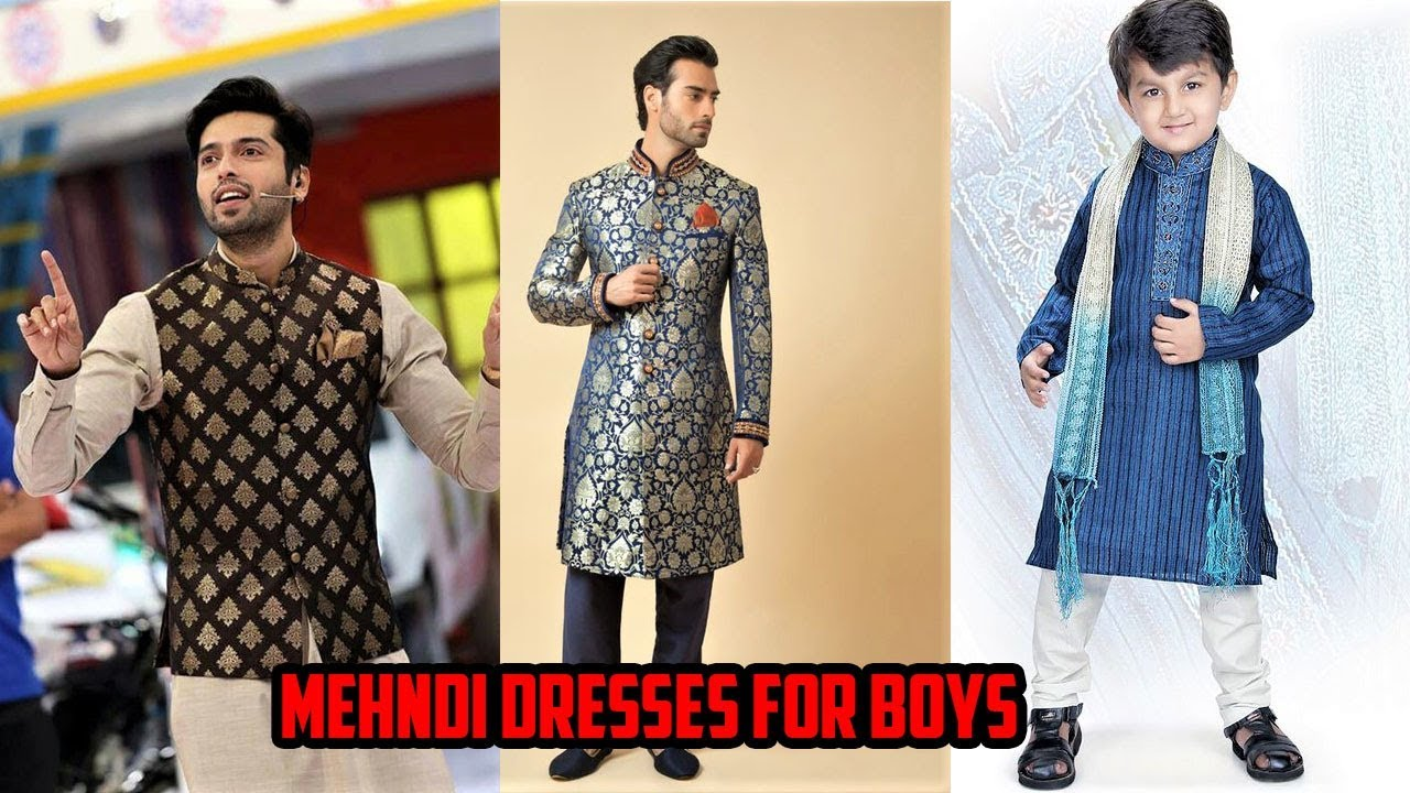Men dresses mehndi forecasting dress in winter in 2019
