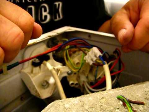 Ремонт стиральной машины ролик