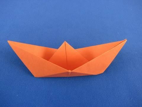 funny Origami barchetta classica  Ship boat  Barquinho de origami tradicional 折纸