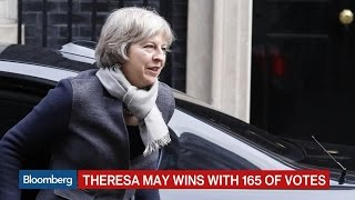 Theresa May Takes Clear Lead in U.K. PM Race
