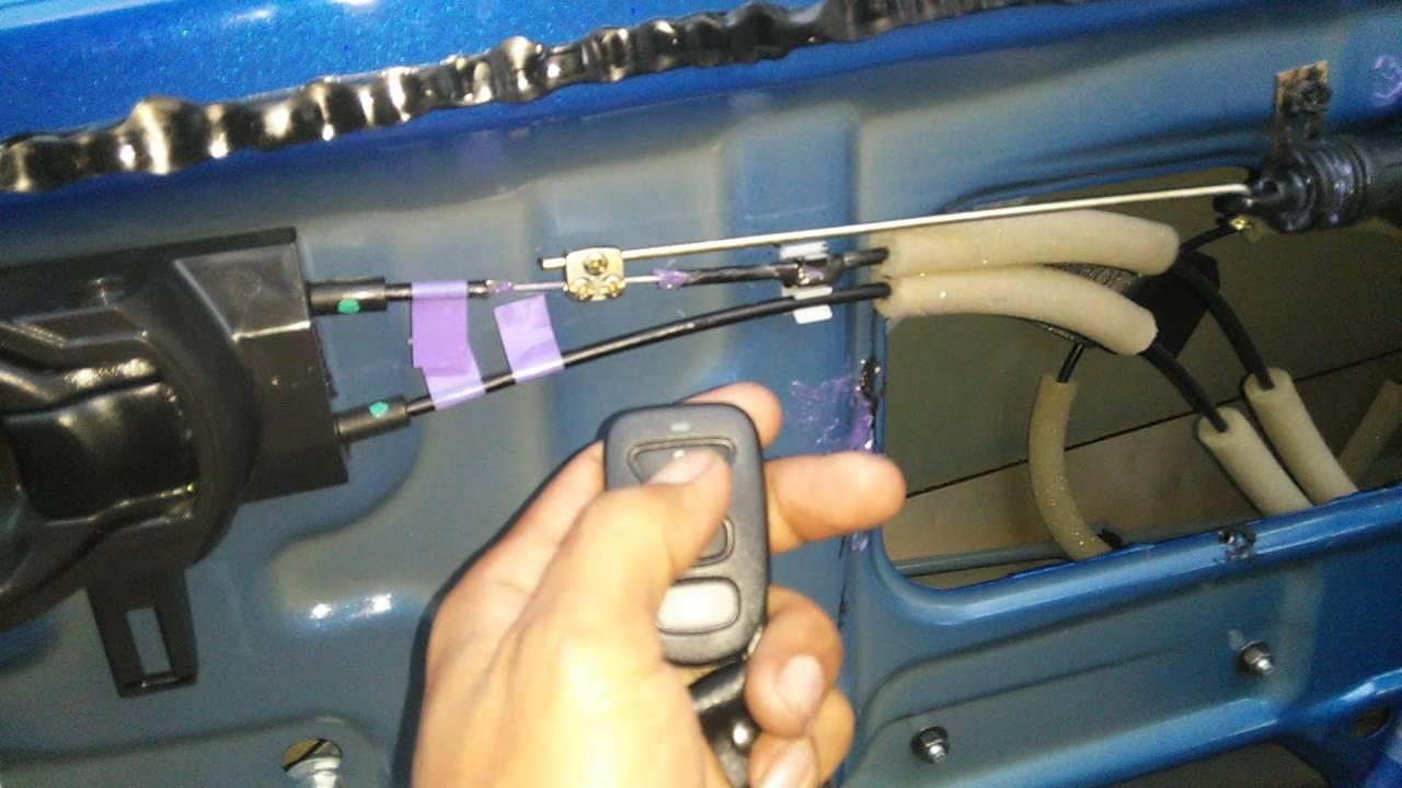 Ebay Power Locks Kit Nissan Versa Power Locks Youtube