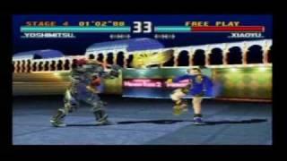 Tekken 3 Arcade - Yoshimitsu playthrough