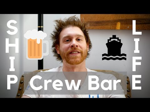 What's it like in the Crew Bar?