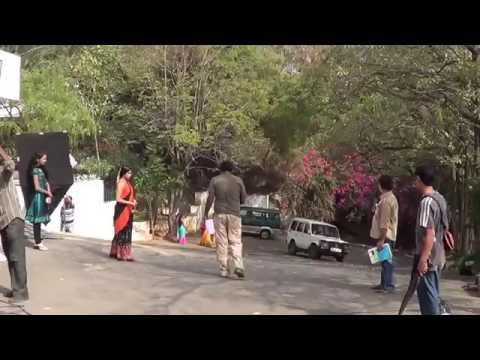 Shooting in Ramanaidu Studio Love Life Telugu Film  16 10 2014