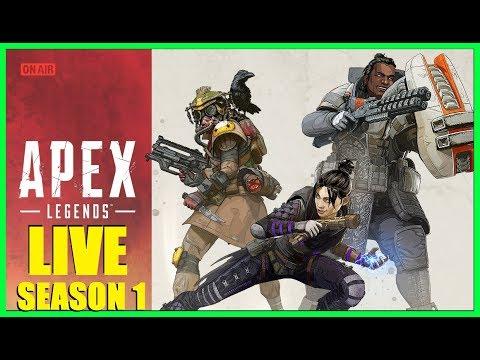 APEX LEGENDS SEASON 1 LIVE