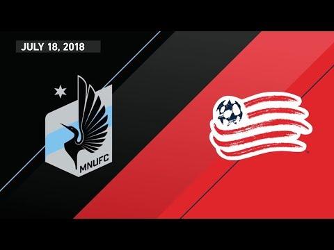 HIGHLIGHTS: Minnesota United FC vs. New England Revolution | July 18, 2018 thumbnail