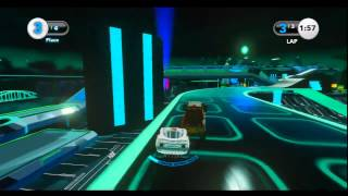 Cars Alive ! Tron Toybox Derezzed Race By Zac Mac17