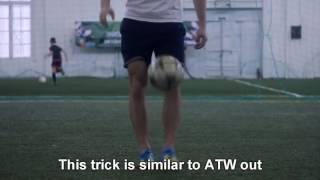 Как научиться делать трюк АТВ (ATW)| Как правильно делать