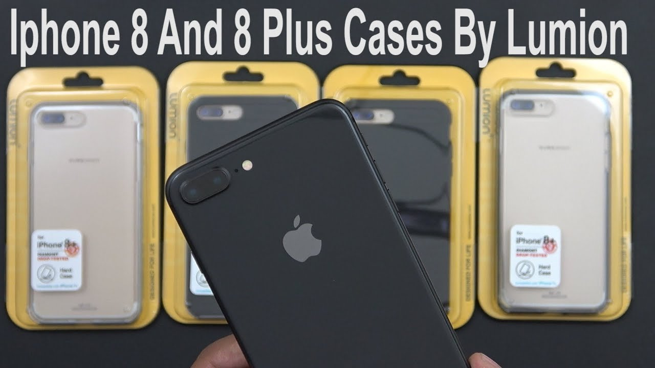 more photos d4535 6a195 Best TPU Cases for Apple Iphone 8 and 8 Plus By @LumionUSA 2017