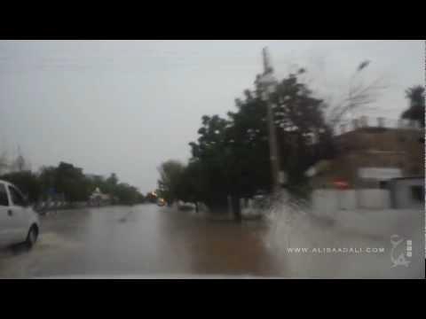 Cruising under the heavy rain in Khartoum 21/8/2012 - Part1